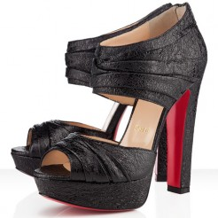 Replica Christian Louboutin Applique 140mm Ankle Boots Black Cheap Fake Shoes