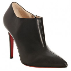 Replica Christian Louboutin Dahlia 100mm Ankle Boots Black Cheap Fake Shoes