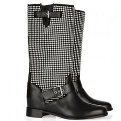 Replica Christian Louboutin Akhalil 80mm Boots Black Cheap Fake Shoes
