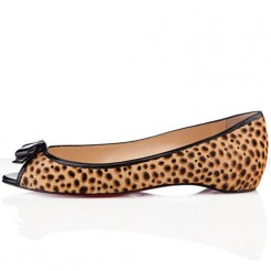 Replica Christian Louboutin Milady Ballerinas Sahara Cheap Fake Shoes