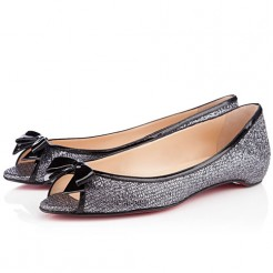 Replica Christian Louboutin Milady Ballerinas Grey Cheap Fake Shoes