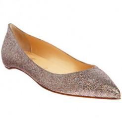 Replica Christian Louboutin Pigalle Glitter Ballerinas Multicolor Cheap Fake Shoes