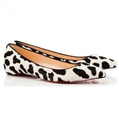 Replica Christian Louboutin Pigalle Ballerinas Black Cheap Fake Shoes