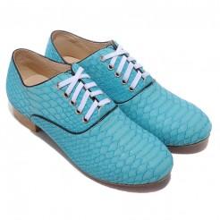 Replica Christian Louboutin Alfredo Loafers Light Blue Cheap Fake Shoes