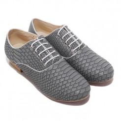 Replica Christian Louboutin Alfredo Loafers Grey Cheap Fake Shoes