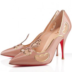 Replica Christian Louboutin Indies 120mm Pumps Nude Cheap Fake Shoes