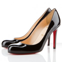 Replica Christian Louboutin Simple 100mm Pumps Black Cheap Fake Shoes