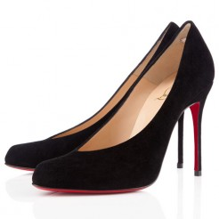 Replica Christian Louboutin Yousra 120mm Pumps Black Cheap Fake Shoes