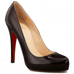 Replica Christian Louboutin Rolando Hidden 120mm Pumps Black Cheap Fake Shoes