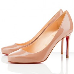 Replica Christian Louboutin Elisa 80mm Pumps Nude Cheap Fake Shoes
