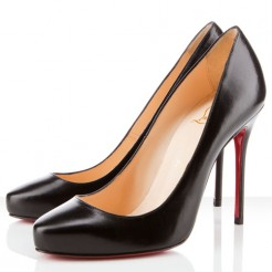 Replica Christian Louboutin Elisa 100mm Pumps Black Cheap Fake Shoes