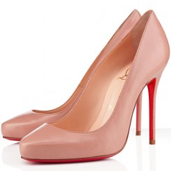 Replica Christian Louboutin Elisa 100mm Pumps Nude Cheap Fake Shoes