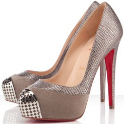 Replica Christian Louboutin Maggie 140mm Pumps Elefante Pewter Cheap Fake Shoes