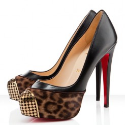 Replica Christian Louboutin Maggie 140mm Pumps Leopard Cheap Fake Shoes