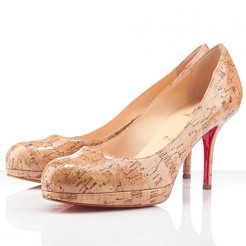 Replica Christian Louboutin Prorata 80mm Pumps Natural Cheap Fake Shoes