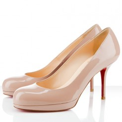 Replica Christian Louboutin Prorata 80mm Pumps Nude Cheap Fake Shoes