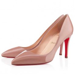 Replica Christian Louboutin Pigalle 80mm Pumps Nude Cheap Fake Shoes