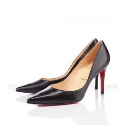 Replica Christian Louboutin New Decoltissimo 80mm Pumps Black Cheap Fake Shoes