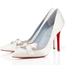 Replica Christian Louboutin Love Me 100mm Special Occasion Off White Cheap Fake Shoes