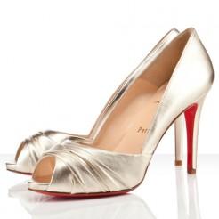 Replica Christian Louboutin Matrinana 100mm Special Occasion Sahara Cheap Fake Shoes