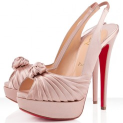Replica Christian Louboutin Jenny 140mm Special Occasion Nude Cheap Fake Shoes