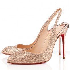 Replica Christian Louboutin Corneille 100mm Special Occasion Nude Cheap Fake Shoes