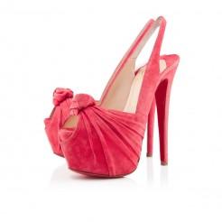 Replica Christian Louboutin Miss Benin 160mm Slingbacks Rose Paris Cheap Fake Shoes