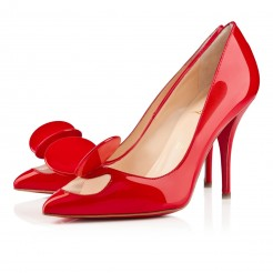 Replica Christian Louboutin Madame mouse 100mm Pumps Red Cheap Fake Shoes