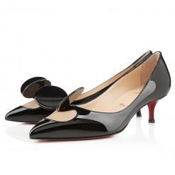 Replica Christian Louboutin Madame mouse 40mm Pumps Black Cheap Fake Shoes