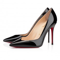 Replica Christian Louboutin Completa 100mm Pumps Black Cheap Fake Shoes