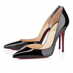 Replica Christian Louboutin Iriza 100mm Pumps Black Cheap Fake Shoes