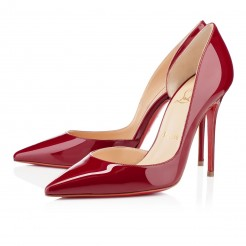 Replica Christian Louboutin Iriza 100mm Pumps Red Cheap Fake Shoes