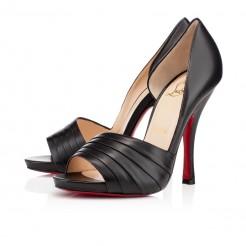 Replica Christian Louboutin Charmu 120mm Pumps Black Cheap Fake Shoes