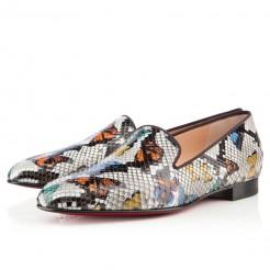 Replica Christian Louboutin Henriette Loafers Multicolor Cheap Fake Shoes