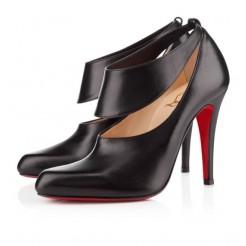 Replica Christian Louboutin Miss zorra 100mm Pumps Black Cheap Fake Shoes